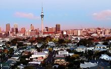 Auckland's CBD - colour it promising for Augusta Capital.