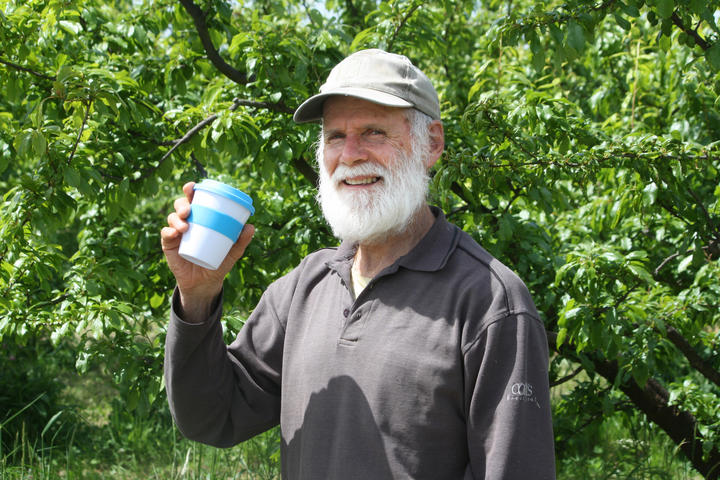 Climate Karanga Marlborough member Budyong Hill says it's good that councils are cutting down on single-use plastic cups.
