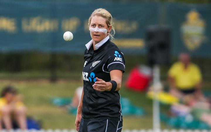 White Fern cricketer Sophie Devine.