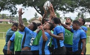 The Fiji sevens team have been training fo r the new season since September.