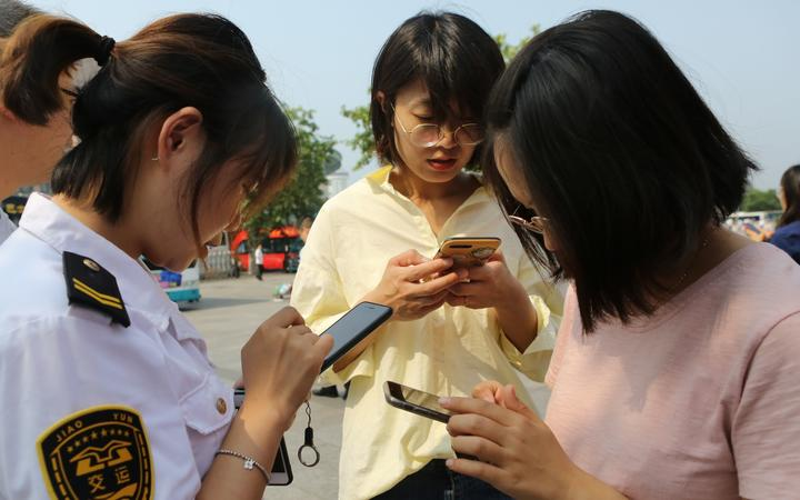 All new cellphone users in China must now have their face scanned""