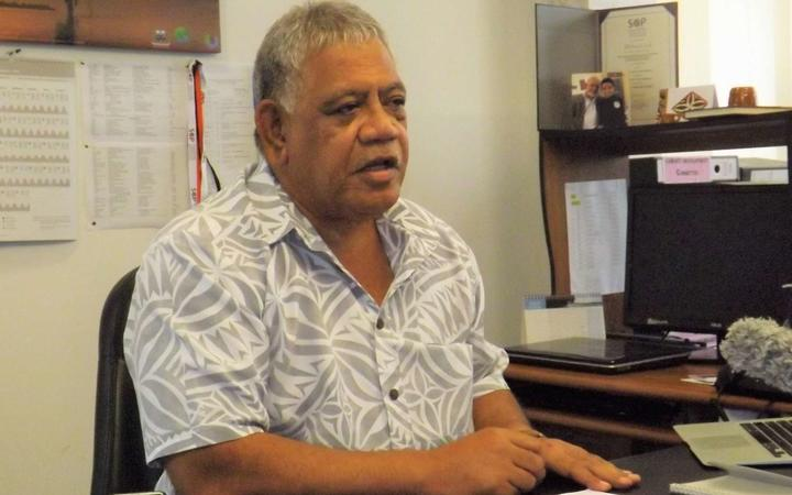 Chair of Samoa's Disaster Assistance Centre, 'Ulu Bismarck Crawley.