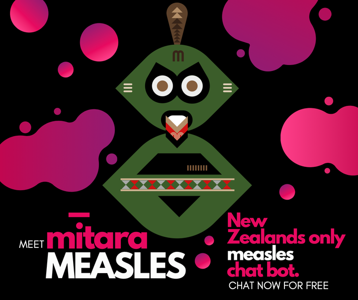 World-first Measles online chatbot Mitara, founded by Dr Canaan Aumua and Dr Sanjeev Krishna