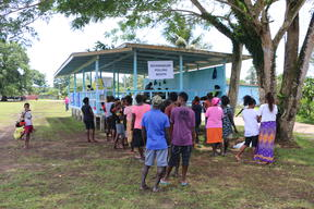 Polling in Bougainville's non-binding referendum on independence - Hutjena, 23 November, 2019.