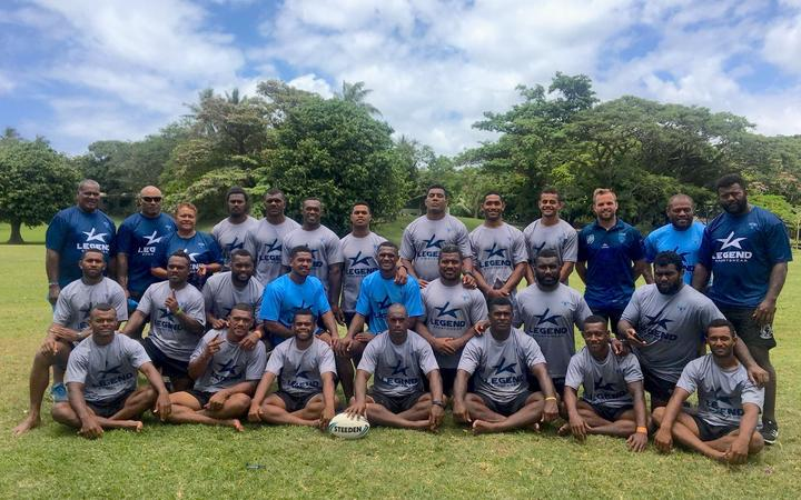 Fiji's Kaiviti Silktails rugby league squad.