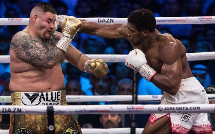 Anthony Joshua tight-lipped on future after reclaiming world heavyweight titles