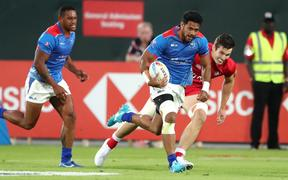 Samoa finished fourth at the opening round of the World Sevens Series in Dubai.