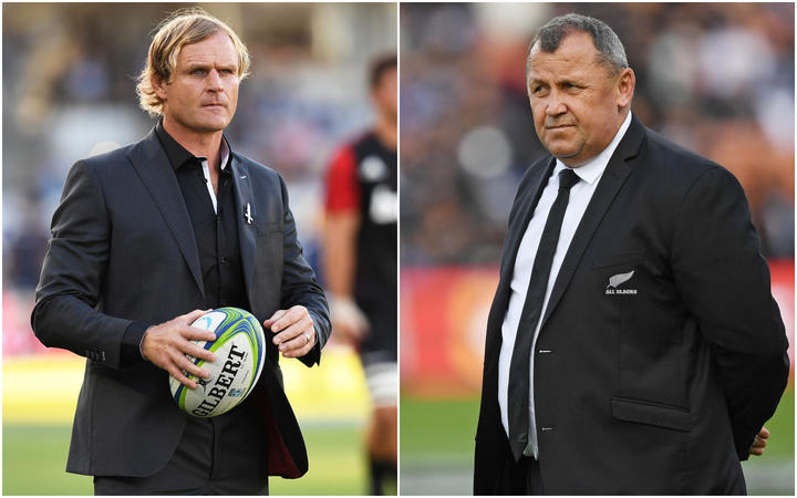 Scott Robertson and Ian Foster are the two remaining candidates for the All Blacks head coach job.