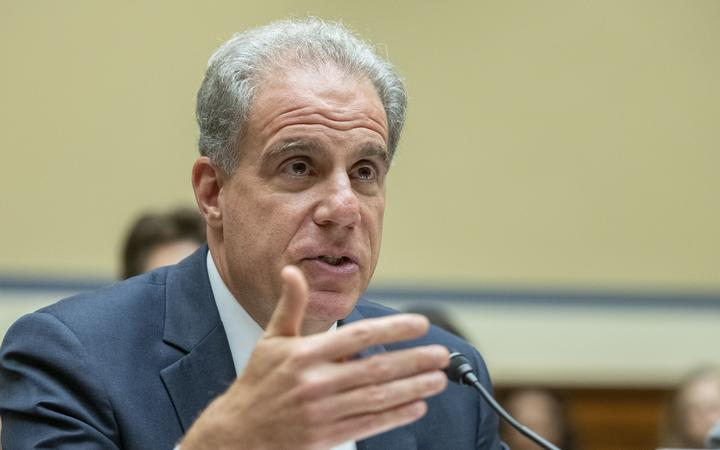 Michael Horowitz , Inspector General, Department of Justice,