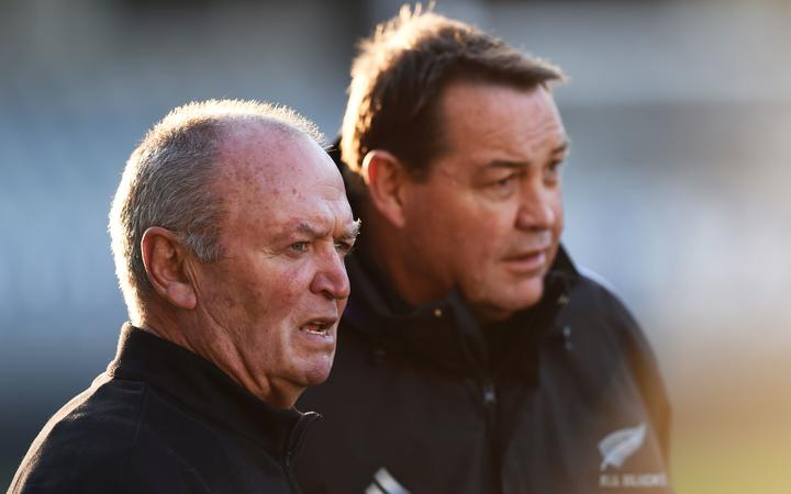 Sir Graham Henry and Steve Hansen
