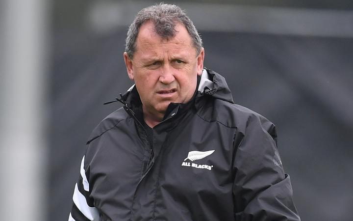 New All Blacks coach Ian Foster.