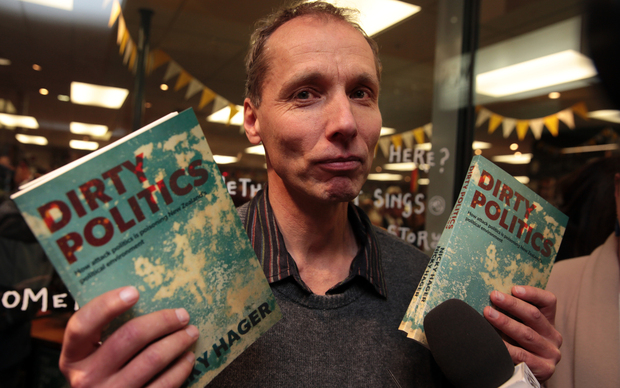 Author Nicky Hager.