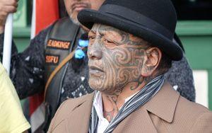 Tuhoe elder Tame Iti