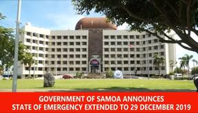 Samoa extends the state of emergency