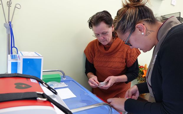 Tuhoe Medical Centre practice nurse and physician.