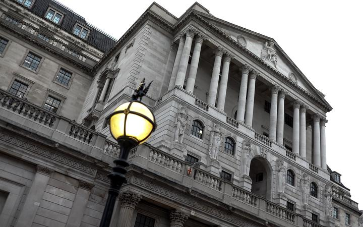 Generic photo of the Bank of England.