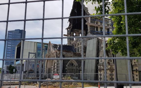 Christchurch Cathedral, 2019.