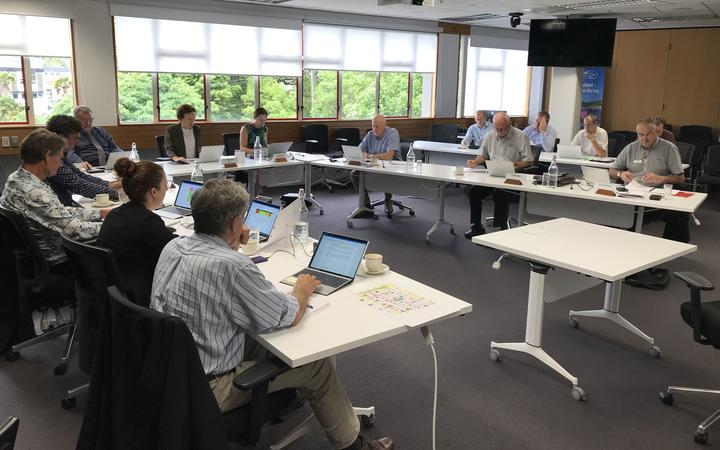 Far North District Council chief financial officer Janice Smith at Northland Regional Council's meeting on 17 December.