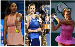 Tennis players Serena Williams, Julia Goerges and Petra Martic will play at the 2020 Auckland ASB Classic.