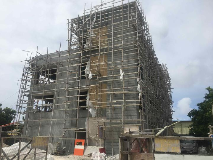 The Parties to the Nauru Agreement building under construction in Majuro