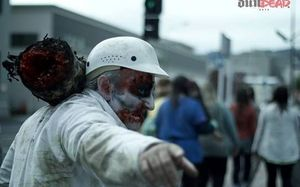 A zombie walk from Dunedin's railway station will lurch to the Town Hall.