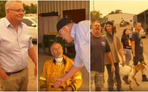 Australia fires: Australian Prime Minister Scott Morrison visits bushfire-hit town of Cobargo in New South Wales