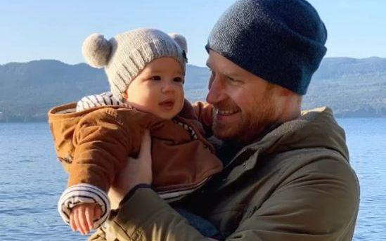 Royal baby Archie with prince harry