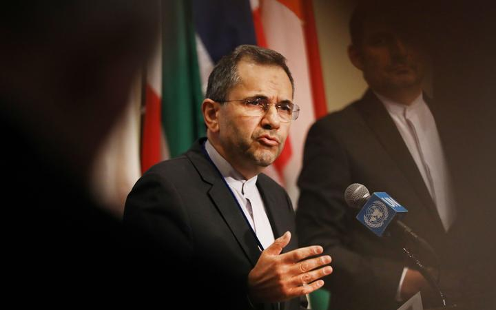 Iran's Ambassador to the United Nations (UN) Majid Takht Ravanchi