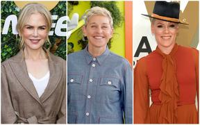 Nicole Kidman,Ellen DeGeneres and P!nk are among those who have donated to the NSW Rural Fire Service.