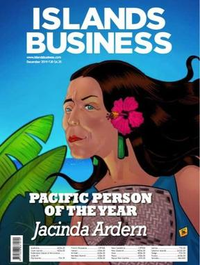 Jacinda Ardern has been named Pacific Person of the Year by regional publication Islands Business magazine.