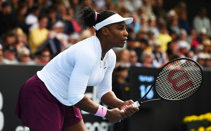 Serena Williams flies into final of ASB Classic in Auckland