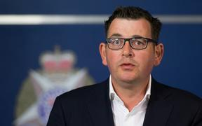 Victoria's state premier, Daniel Andrews, speaks during a press conference in Melbourne on December 21, 2017, after car ploughed into a crowd of people earlier in the day.