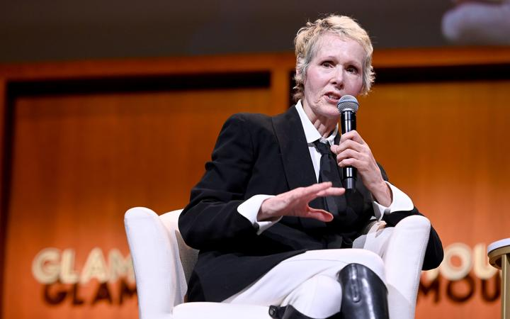 E. Jean Carroll speaks onstage during the How to Write Your Own Life panel at the 2019 Glamour Women Of The Year Summit at Alice Tully Hall on November 10, 2019 in New York City.