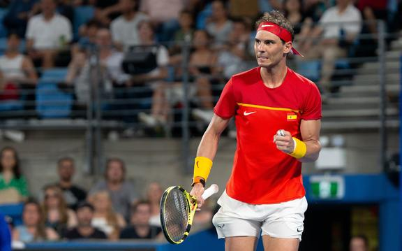 Spanish tennis star Rafael Nadal.