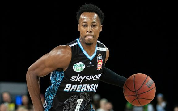 NZ Breakers Scotty Hopson.