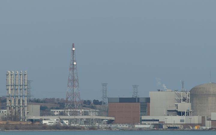 Pickering Nuclear Generating station on the shores of Lake Ontario, east of Toronto.