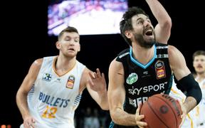 NZ Breakers Jarrad Weeks.