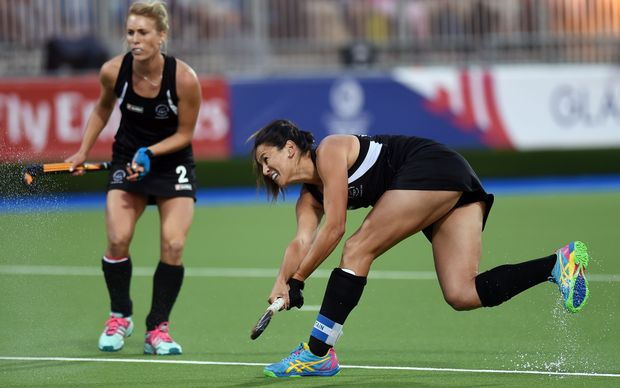 Black Sticks captain Kayla Whitelock