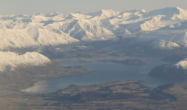 Mountains around Wanaka, New Zealand