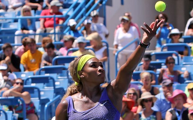 World women's tennis number one Serena Williams.
