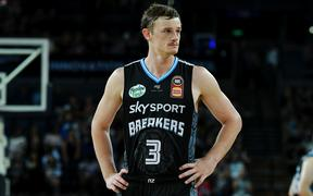 New Zealand Breakers Finn Delany.