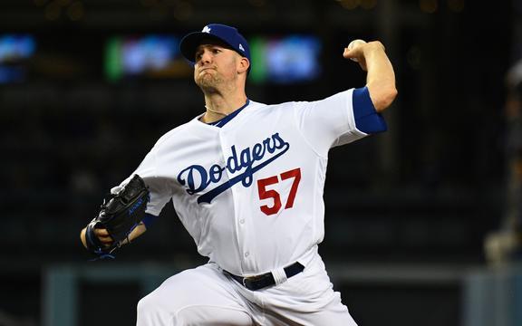Los Angeles Dodgers pitcher Alex Wood.