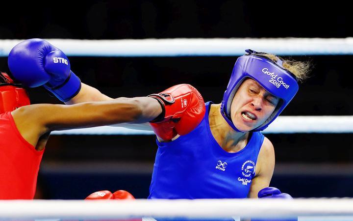 New Zealand boxer Troy Garton.
