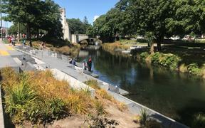 Generic pic of the Avon River along Oxford Terrace in Christchurch.