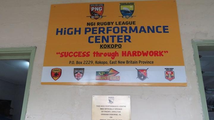 The Papua New Guinea Rugby Football League have opened a new high performance centre.