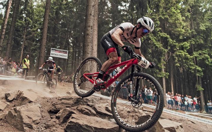 NZ mountainbiker Anton Cooper
