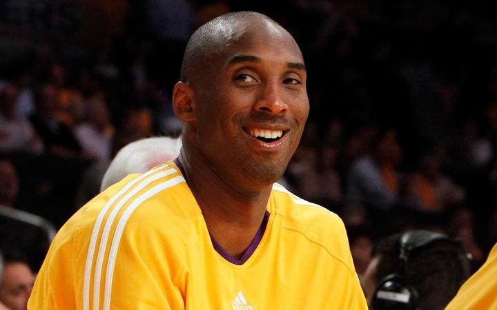 Los Angeles Lakers' Kobe Bryant (24) all smiles in the second half of game one of a Western Conference Final Playoff basketball game as the Lakers beat the Suns 128-107 at the Staples Center on Monday, May 17, 2010 in Los Angeles