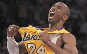 Lakers legend Kobe Bryant.