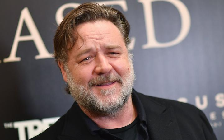 New Zealand actor Russell Crowe attends the special screening of 'Boy Erased' at The Whitby Hotel Theater on October 22, 2018 in New York City. (Photo by Angela Weiss / AFP)