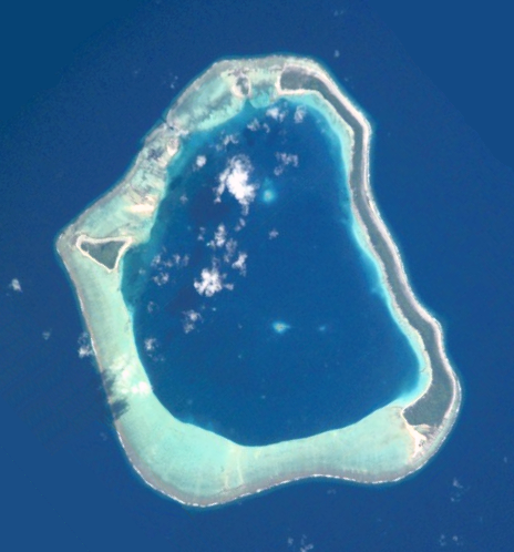 Maupelia (also known as Mopelia or Maupihaa) is the island where the Seeadler was wrecked.